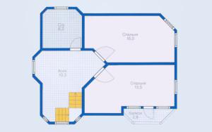 Проект дома 113,5 м.кв.