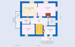 Проект дома 132,4 м.кв.