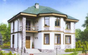 Проект дома 133,1 м.кв.