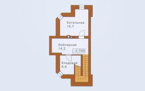 Проект дома 198,9 м.кв.