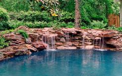 Ландшафтный дизайн, водопад