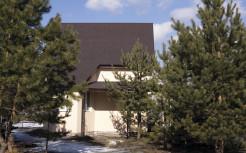 Двухэтажный дом из SIP-панелей