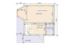 Проект двухэтажного дома из SIP-панелей