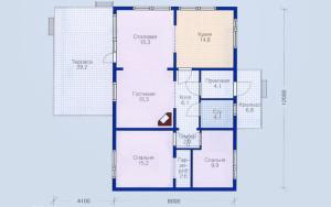 Проект дома 89,4 м.кв.