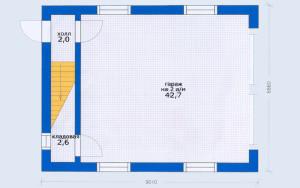 Проект гаража 89,5 м.кв.