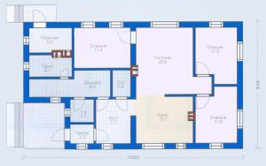 Проект дома 101,7 м.кв.