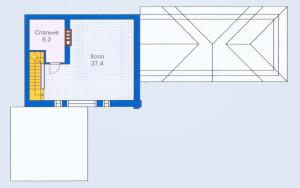 Проект бани 131,8 м.кв.