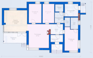 Проект дома 135,5 м.кв.