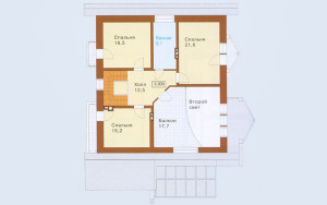 Проект дома 234,5 м.кв. (мансарда)