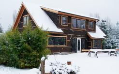 Канадский дом из SIP панелей.