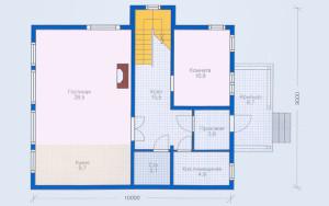 Проект дома 147,3 м.кв. (мансарда)