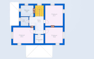 Проект дома 187,3 м.кв.