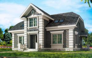 Проект дома 191,2 м.кв. (мансарда)