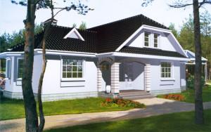 Проект дома 199,5 м.кв. (мансарда)