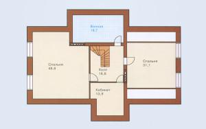 Проект дома 266,0 м.кв. (мансарда)
