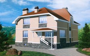Проект дома 289,9 м.кв.